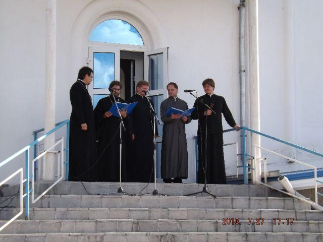 Архиерейский квартет Кемеровской епархии дал большой праздничный концерт