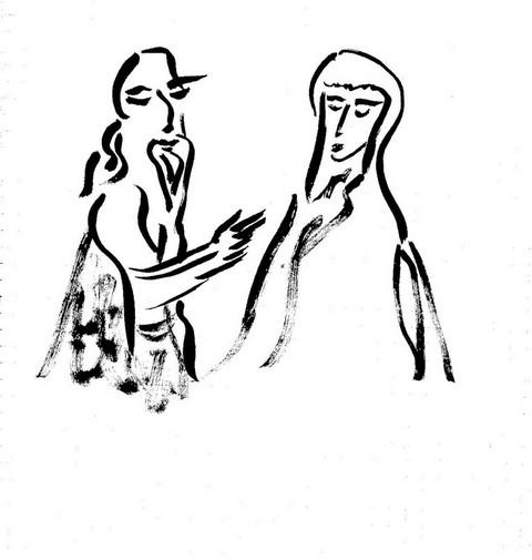 Авва Ор и его жена