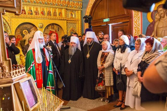Святейший Патриарх в Кузбассе