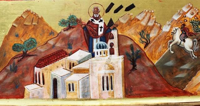 В 1967 году многие видели святителя Николая, собирающего бомбы, которые летели по небу
