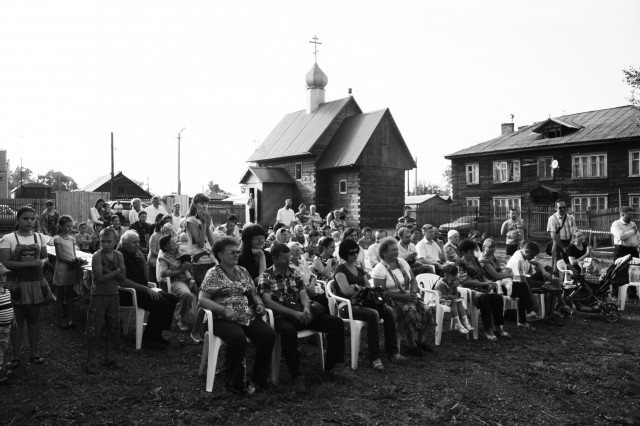 Прихожане храма в честь Кирилла и Мариии Радонежских