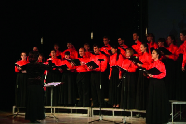 XV Православный фестиваль духовной, народной и военно-патриотической музыки «Сибирь Пасхальная» в Новокузнецке