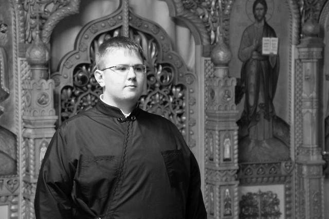 Кирилл Зорин,  студент Кузбасской православной  духовной семинарии
