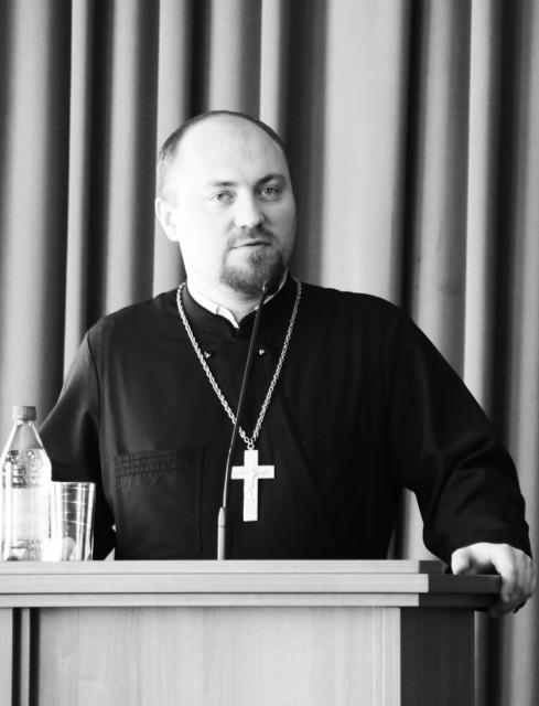 иерей Андрей Мояренко,  первый проректор Кузбасской  православной духовной семинарии