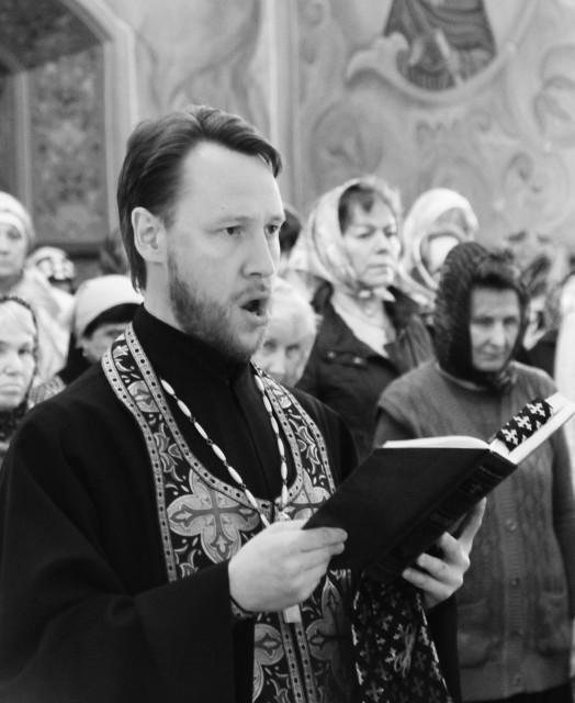 Протоиерей Сергий Гудков,  проректор по воспитательной работе КПДС