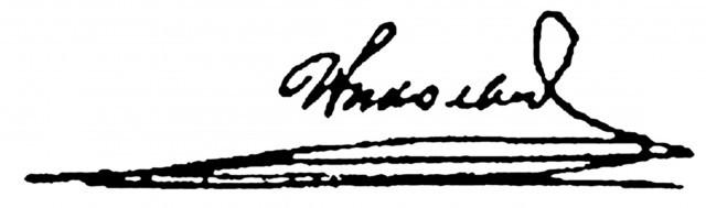 Второй экз. отречения. 15 часов 05 мин. 2 марта 1917 года