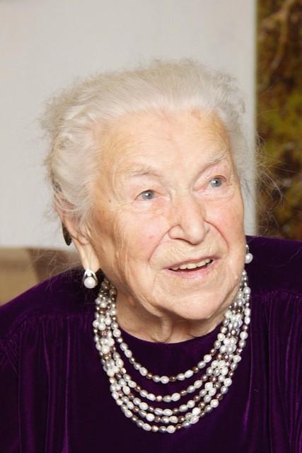 София Георгиевна Федина в день 100-летия