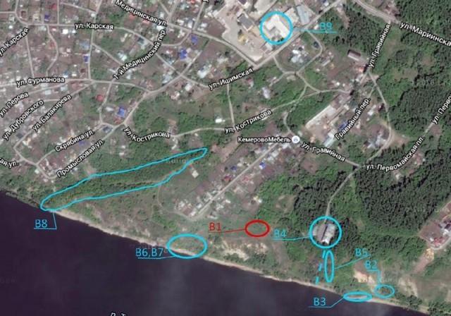 Карта со спутника 2016 г., представленная bestmaps.ru/google-maps   (В)