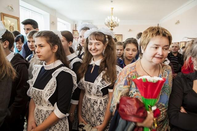 День знаний в Православной гимназии во имя  святителя Луки Войно-Ясенецкого (г.Новокузнецк)