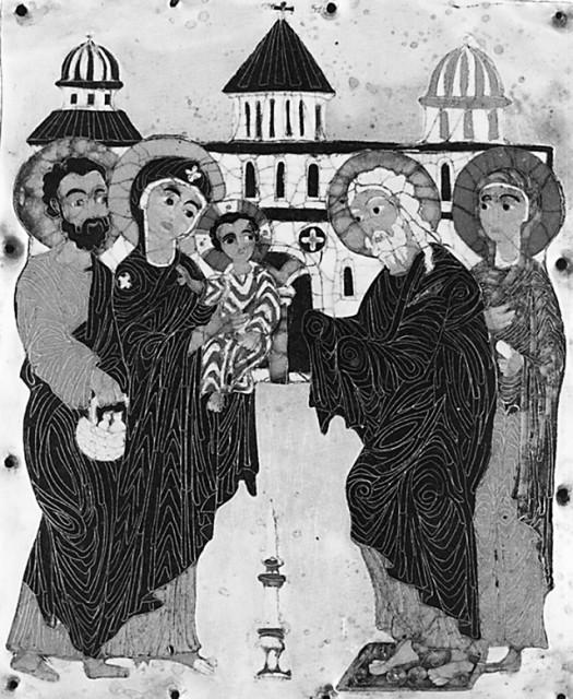 Эмаль. Конец XII – начало XIII в. Грузия. Государственный музей искусств Грузии, Тбилиси