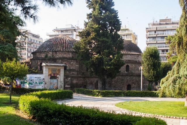 Турецкая баня в греческом городе