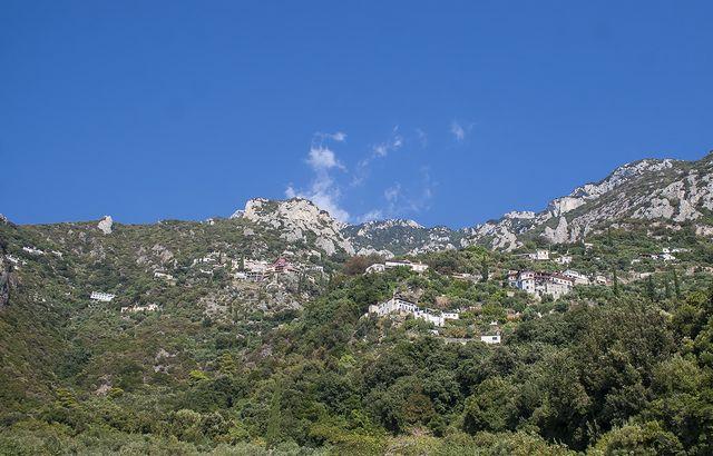 7. Вершина горы Афон